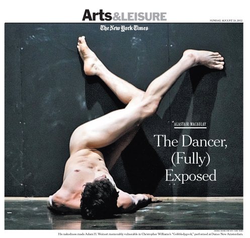 The Dancer (Fully) Exposed